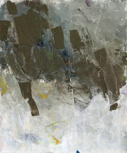 Olie på lærred 60 x 50 cm.